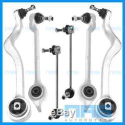 4x BRAS DE SUSPENSION + BIELLETTES AVANT BMW SERIE 5 E39 520d 525d 525tds 530d