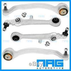 4x TRIANGLE BRAS DE SUSPENSION AVANT ALU POUR AUDI A4 B5 A6 C5 VW PASSAT 3B 3BG