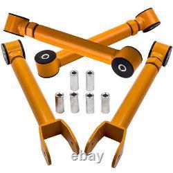 Front + Rear Control Arm Kit Bras de Suspension pour Jeep Wrangler TJ 1997-2006