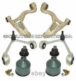 JAGUAR S-TYPE Avant Contrôle Bras Balle Joints Cravate Canne Suspension Kit 12