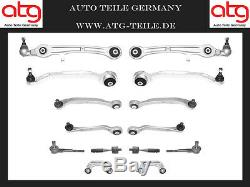 Jeu de Bras Oscillants Kit Audi A6 4F2 C6 4F5 Essieu avant Suspension D'Essieux