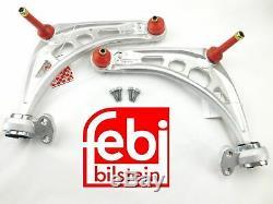 Kit 2 Triangle/Bras de suspension Gauche + Droit Febi BMW E46