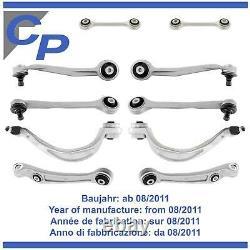 Kit Bras de Suspension Avant Audi Q5 8R depuis 08/2011 Gauche Droite 10 Pièces