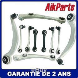Kit Bras de Suspension de contrôle avant incluent 10 pcs Pour Audi A4 B8 A5 8F7