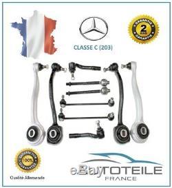 Kit Bras de suspension 10 pièces MERCEDES CLASSE C (W203) de 03/2001 à 06/2011