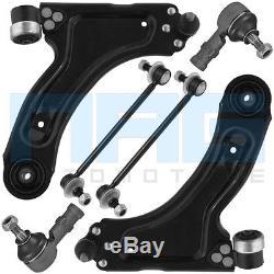 Kit Triangle Bras De Suspension 6 Pieces Avant Opel Corsa C 1.3 1.7 DI Dti Cdti