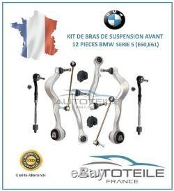Kit bras de suspension 12 pièces BMW SERIE 5 (E60) de 07/2003 à 03/2010