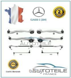 Kit de bras de suspension avant 10 pièces Mercedes CLASSE C (W204)