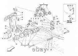 Maserati Quattroporte Granturismo Avant Fin Suspension Kit Contrôle Bras Bagues