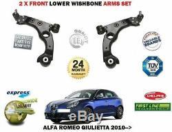 Pour Alfa Romeo Giulietta 2010-2X Essieu Avant Bras Triangle Suspension Set