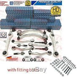 Pour Audi A6 Allroad 4BH C5 Suspension avant Supérieur Bas Triangle Bras Kit Vis