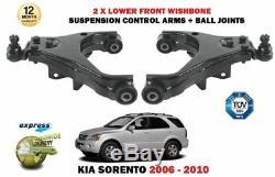 Pour Kia Sorento 2004-2010 Gauche + Droit Côté Bas Suspension Bras Triangle