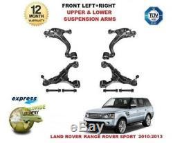 Pour Land Rover Range Sport 2005-2013 avant Supérieur + Bas Bras de Suspension