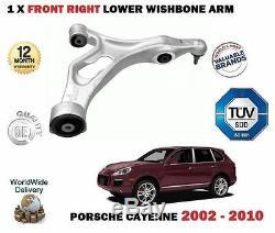 Pour Porsche Cayenne 2002-2010 Essieu avant Inférieur Droit Bras Suspension