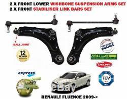 Pour Renault Fluence 2010 2 X avant Bras de Suspension +