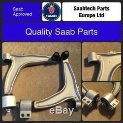 Saab 9-3 avant Inférieur Bras de Suspension Bras Paire 12796013/14