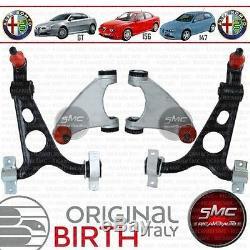 Set 4 Bras Suspension Avant Alfa Romeo 147-156 Gt Original BIRTH 4 Pièces