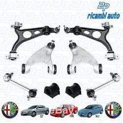 Set Bras Suspension avant Alfa Romeo 156 Sw 1.9 JTD 126 HP