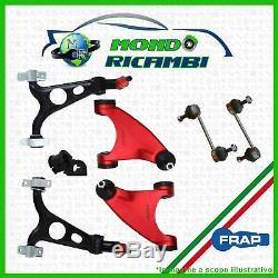 Set Bras Suspension avant Renforcés Alfa Romeo 147 156 Gt Frap 8pz