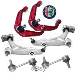 Set Bras de Suspension Renforcés avant Alfa Romeo 159 E Brera 6 Pcs BRA438