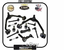 Suspension avant Kit 12pc Rotules Bras 97-03 Ford F-150 F-250 Expedition 2WD